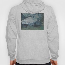 Claude Monet - Arrival of the Normandy Train Hoody