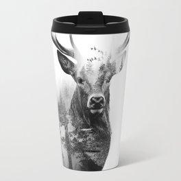 Deer in the woods Travel Mug
