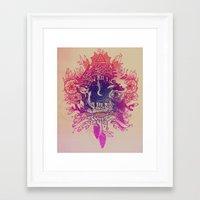 clockwork Framed Art Prints featuring ClockWork by Austin Pardun