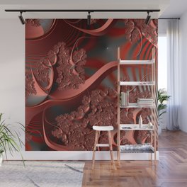 Excitement -- an abstract illustration Wall Mural