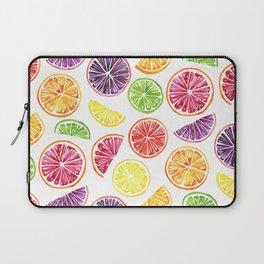 Citrus Wheels Laptop Sleeve