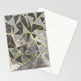 Ab Marb Grey Returned Stationery Cards