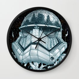 Stormtrooper Treehouse Wall Clock