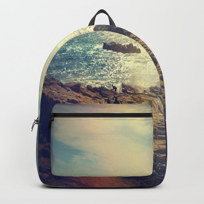 Quintero, Chile. Backpack