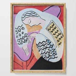Henri Matisse - The Dream - 1940 Artwork Serving Tray