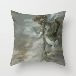 The sound of dreams Throw Pillow