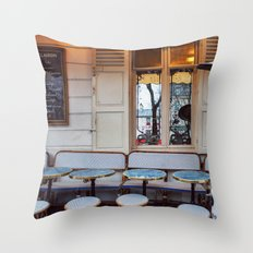 Montmartre details. Throw Pillow