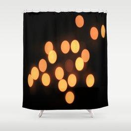 Blurred Lights Shower Curtain