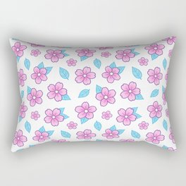 Sakura Rectangular Pillow