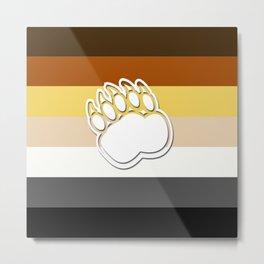 Gay Bear Metal Print