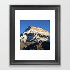 Mt Garfield Dust Framed Art Print