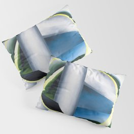 Variation on a Lighthouse landscape painting by Ida O'Keeffe Pillow Sham