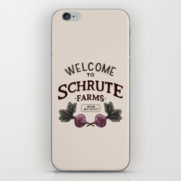 Welcome to Schrute Farms iPhone Skin