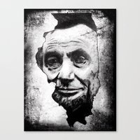 lincoln Canvas Prints featuring Lincoln by 6-4-3
