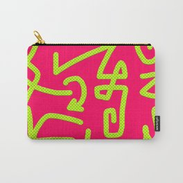 swerve pink Carry-All Pouch
