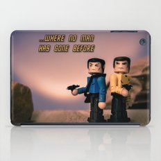 ...Where no man has gone bofore iPad Case