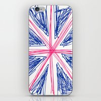 uk iPhone & iPod Skins featuring UK by R.Bongiovani