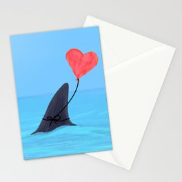Original Shark Love Design Stationery Cards