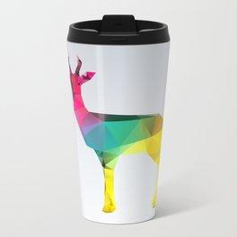 Glass Animal Series - Gazelle Metal Travel Mug