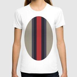 High Fashion Designer Style Stripes T-shirt