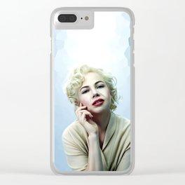 Judi Meredith - Celebrity Art Clear iPhone Case