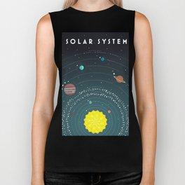 Solar System Biker Tank