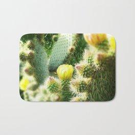 Blooming Cactus Bath Mat