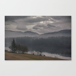 Norway, Voss Canvas Print