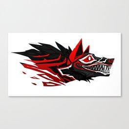 Mad dog Canvas Print