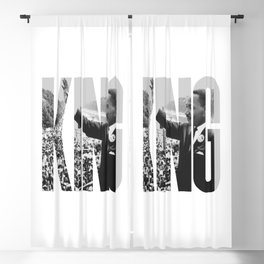 King - Martin Luther Blackout Curtain