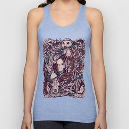 Girl and friends Unisex Tank Top
