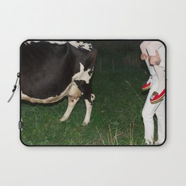 The queen is thirsty. Really, really thirsty Laptop Sleeve
