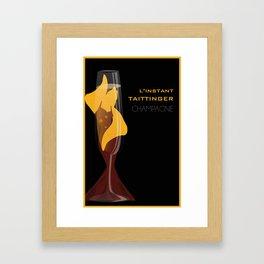 Taittinger Champagne Framed Art Print