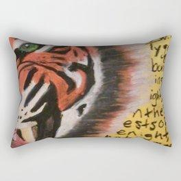 The Tyger  Rectangular Pillow