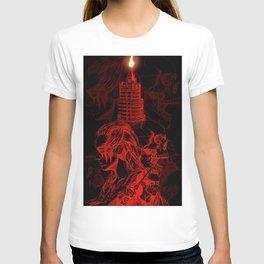 Fight Like Lexa - RED & BLACK T-shirt