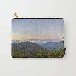 Sleepy valley town Carry-All Pouch