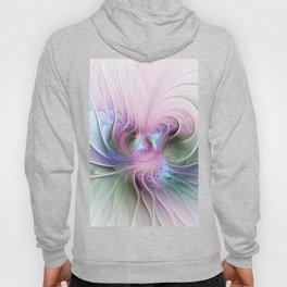 Temperament, Colorful Abstract Fractals Art Hoody