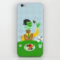 vegetarian iPhone & iPod Skins featuring Vegetarian parody by Bakal Evgeny