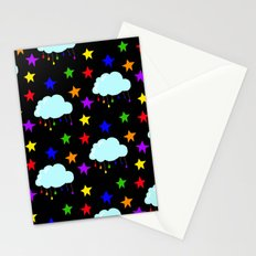 I wish it could rain colors Stationery Cards