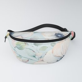 Summer Flowers #society6 #buyart Fanny Pack