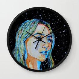 Saoirse Ronan comics style Wall Clock
