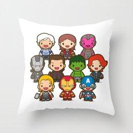 Assemble! Throw Pillow