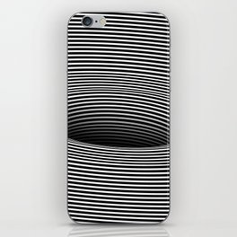 Black Hole Vertigo iPhone Skin