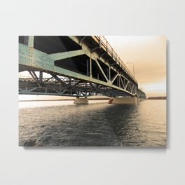 Low Suspension Metal Print