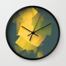 Cubism Abstract 200 Wall Clock