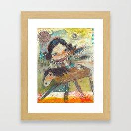 The Amazing Journey Framed Art Print