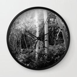 The Aspen Grove, No. 2 Wall Clock