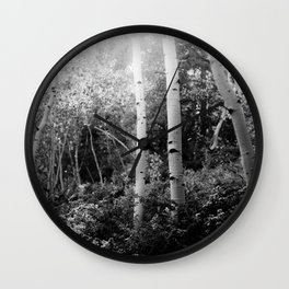 The Aspen Grove, No. 2 Wall Clock