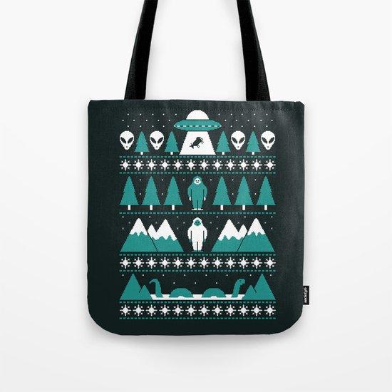Paranormal Xmas Tote Bag