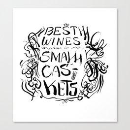 The Best Wine Canvas Print